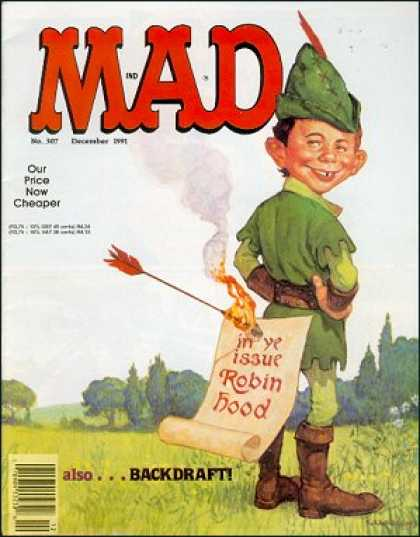 Mad 307 - Mad - Our Price Now Cheaper - Backdraft - Robinhood - Flaming Arrow