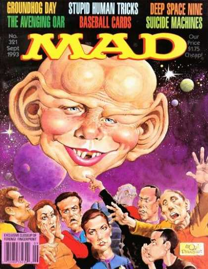Mad 321 - Satire - English - Magazine - Star Trek - Ferengi
