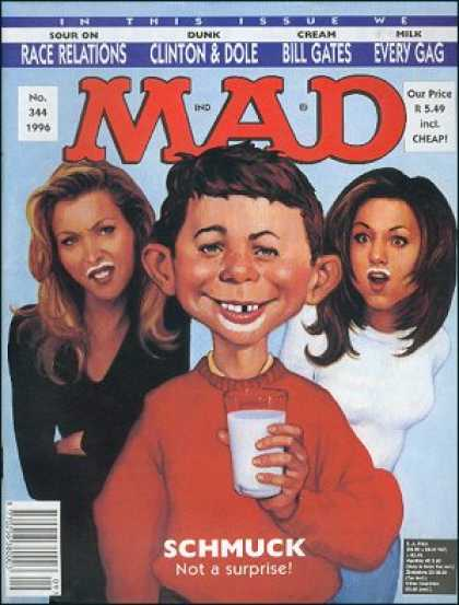 Mad 344 - Cheap - Bill Gates - Race Relations - Schmuck - Not A Surprise