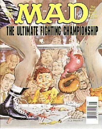 Mad 348 - Championship - Feet - Audience - Eyeball - Boxing Shorts