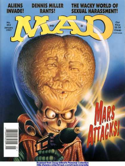 Mad 353 - Mars Attacks