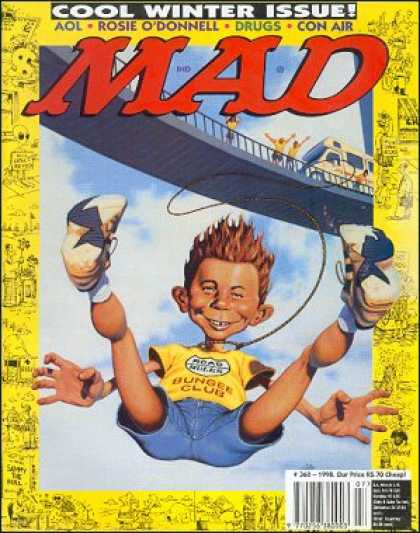 Mad 360 - Bridge - Bungee - Tennis Shoes - Jean Shorts - Rv Camper
