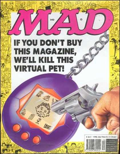 Mad 362 - Virtual Pet - Pixels - Gun - Threat - Buy This Magazine