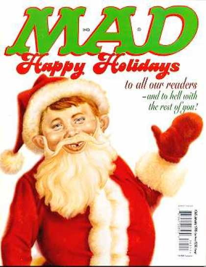 Mad 365 - Holidays - Readers - Waving - Santa Claus Costume - All