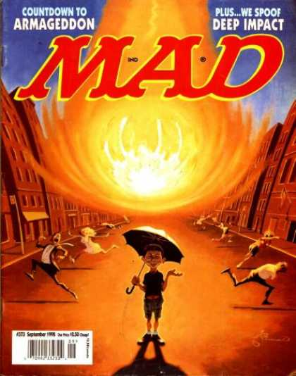 Mad 373 - Armageddon - Umbrella - Fire