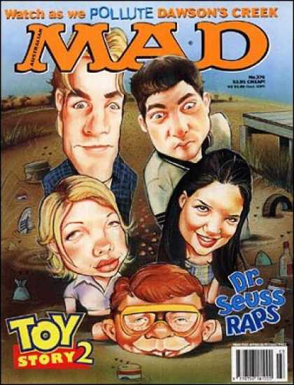 Mad 376 - Dawsons Creek - Cheap - Toy Story 2 - Dr Seuss - Raps