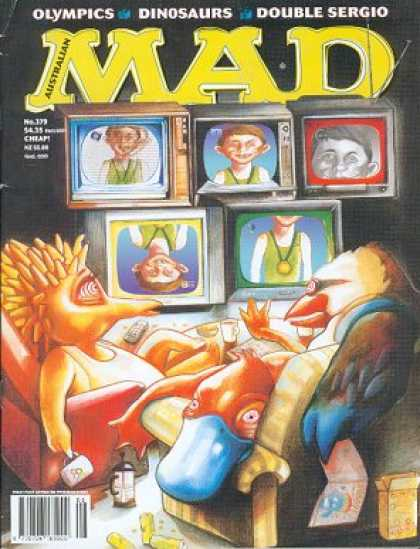 Mad 377 - Television - Pet - Wife - Hypnosis - Watching