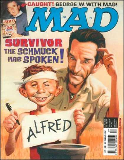 Mad 379 - Survivor - Alfred - Schmuck - George W - Pen