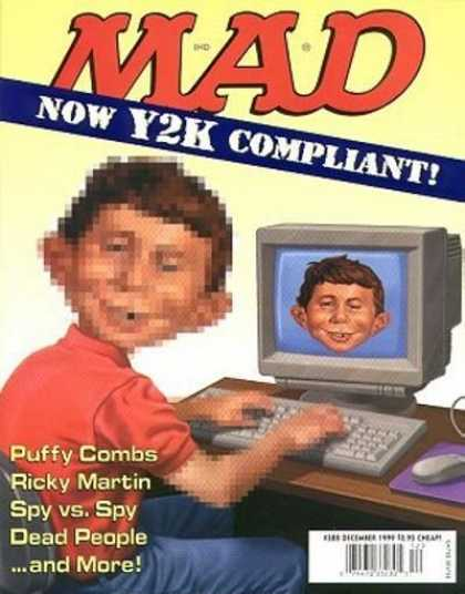 Mad 388 - Y2k - Computer - Spy Vs Spy - Puffy Combs - Pixel