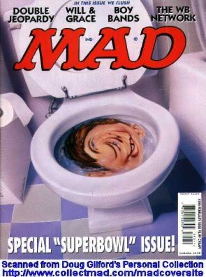 Mad 390 - Toilet Paper - The Wb Network - Boy Bands - Will U0026 Grace - Double Jeopardy