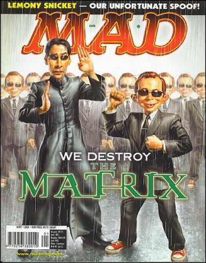 Mad 393 - Matrix