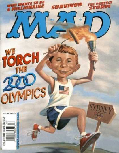 Mad 398 - Who Wants To Be A Millionaire - Survivor - The Perfect Storm - Olympics - Torch