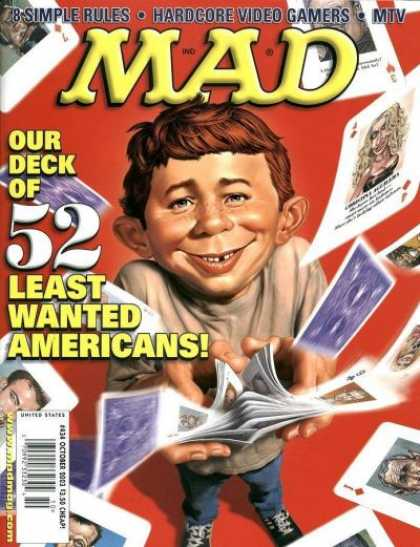 Mad 434 - Cards - Americans
