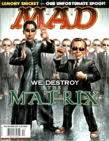 Mad 436 - Matrix