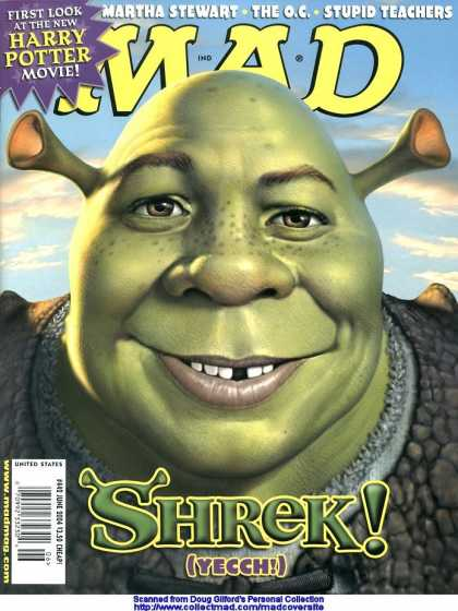Mad 442 - Shrek - Harry Potter - Martha Stewart - The Oc - Stupid Teachers