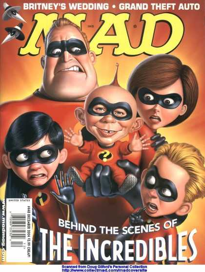 Mad 448 - Incredibles