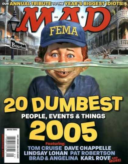 Mad 461 - Water - Tom Cruise - Fema - Bourbon - 20 Dumbest People Events And Things