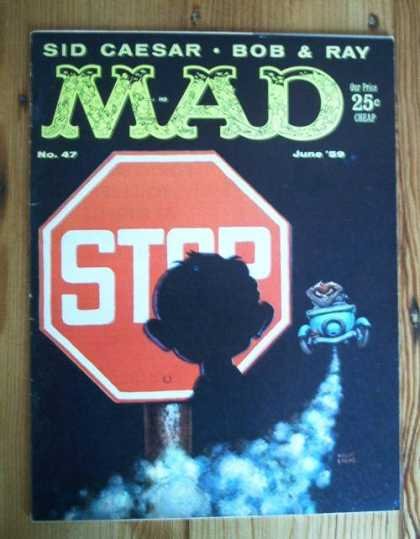Mad 47 - Stop - Sign - Car - Stop Sign