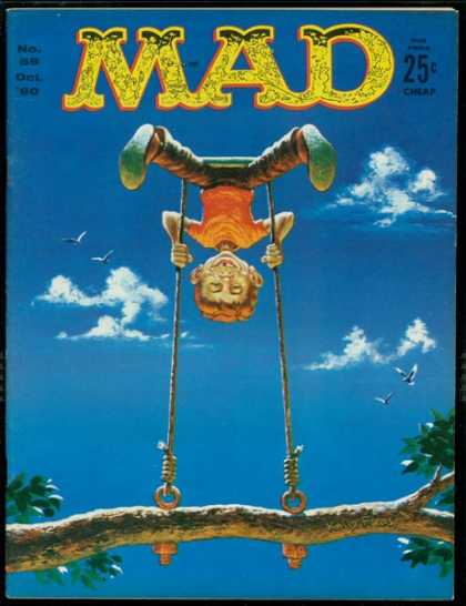 Mad 58 - Madness At The Top - Seeing The World Upside Down - The Ride Of Life - Swing Not To Forget - Childhood Games