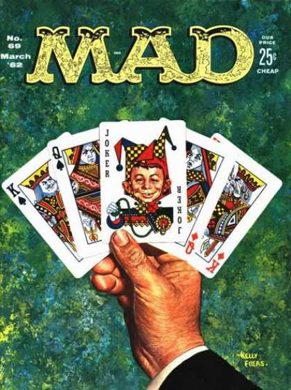 Mad 69 - Mad - No 89 March 82 - Our Price 25 C - Joker - Kelly Edeas