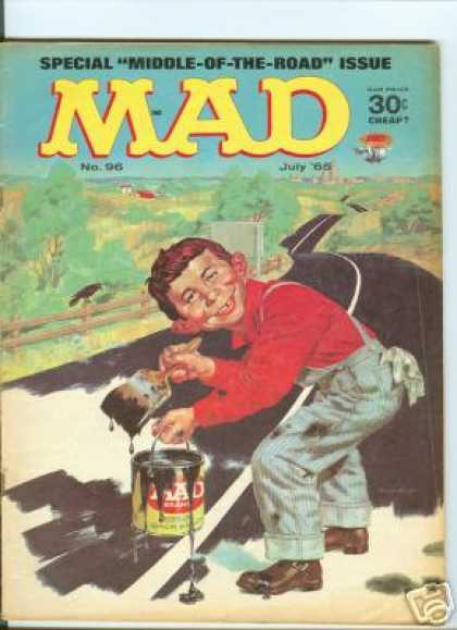 Mad 96 - Cheap - Middle Of The Road Issue - Paint - Brush - July