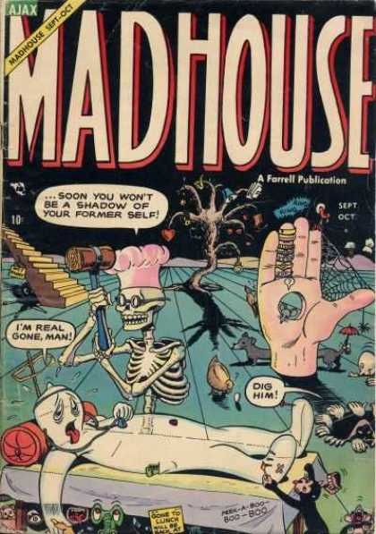 Madhouse 4 - Ajax - Farrell Publication - Hand - Web - Skeleton