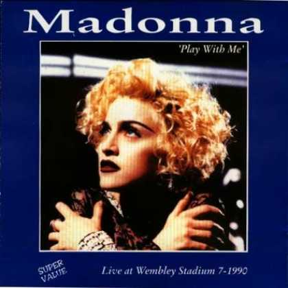 Madonna - Madonna - Play With Me (live at Wembley)