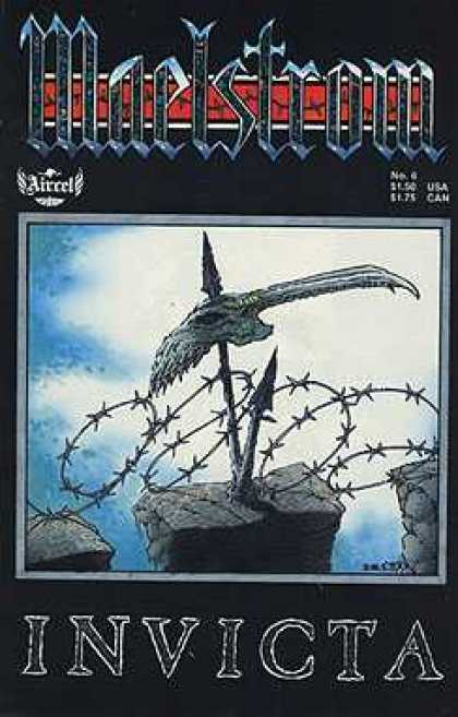 Maelstrom 6 - Arrow - Barbed Wire - Rock - Sky - Invicta