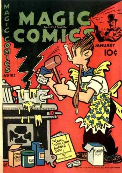 Magic Comics 102