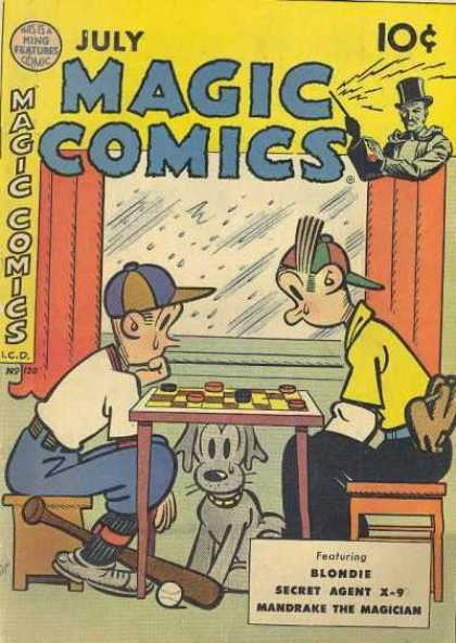 Magic Comics 120 - Dagwood - Alexander - Rain - Checkers - Dog