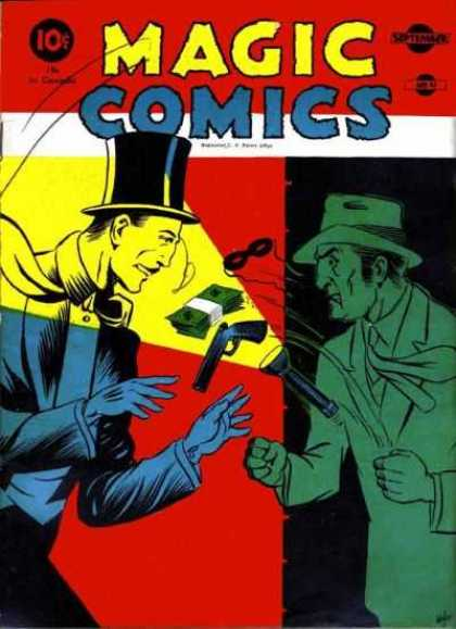 Magic Comics 14 - Magic Comics - Ten Cents - Magician - Thief - Money