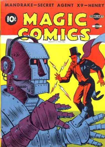 Magic Comics 19