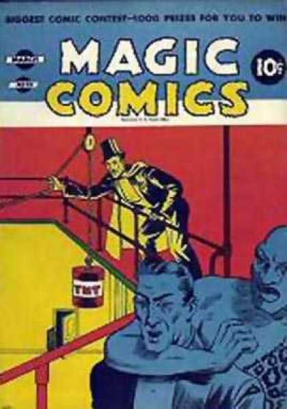 Magic Comics 20 - Tnt - Cape - Tuxedo - Pully - Choke Hold
