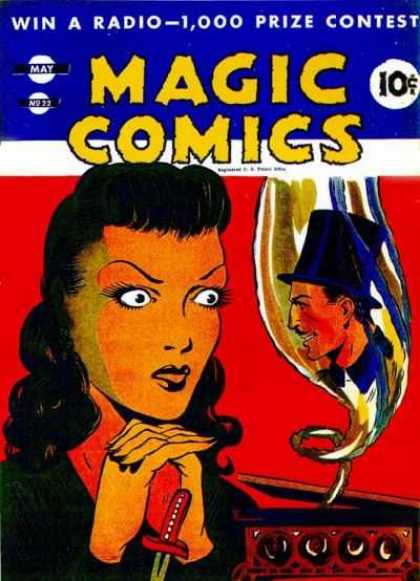 Magic Comics 22 - Apparition - Top Hat - Win A Radio - Box Of Magic - May No 22