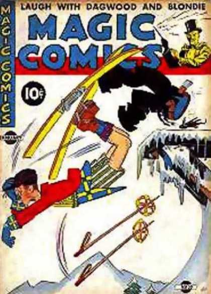 Magic Comics 30 - Skiing - Dagwood - Blondie - Laugh With Dagwood And Blondie - Pants