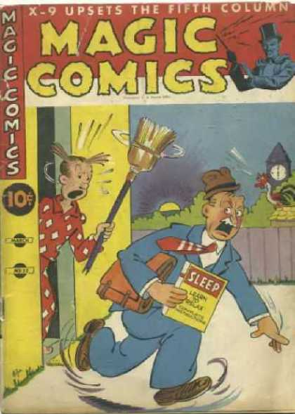 Magic Comics 32 - Broom - Clock - Door - Dagwood - Salesman