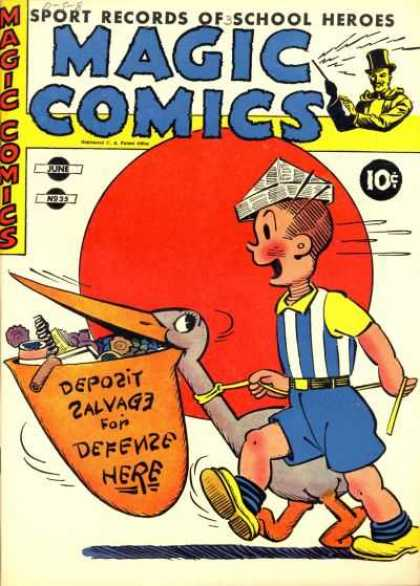 Magic Comics 35