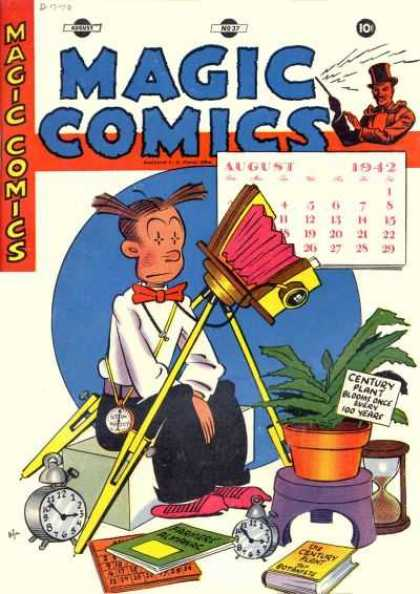 Magic Comics 37 - Magic - Magic Comics - Photograph - Man