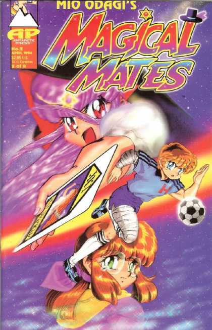 Magical Mates 2 - Mio Odagis - Antarctic Press - Soccer - Sports - Green Eyes