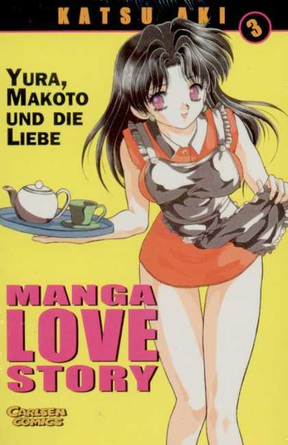 Manga Love Story 3 - Purple Eyes - Katsu Aki - Yura Makota Und Die Liebe - Tea Pot - Girl