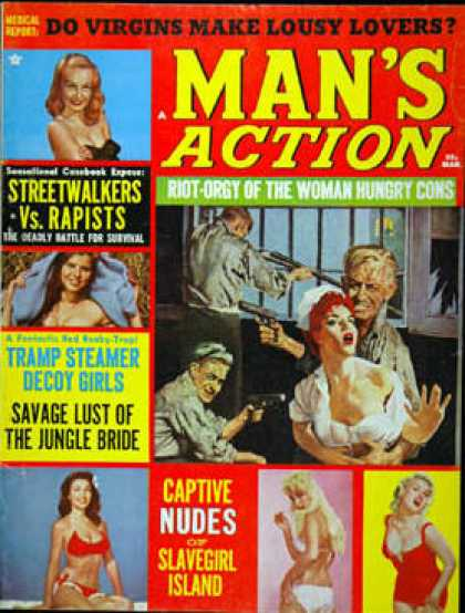Man's Action - 3/1966