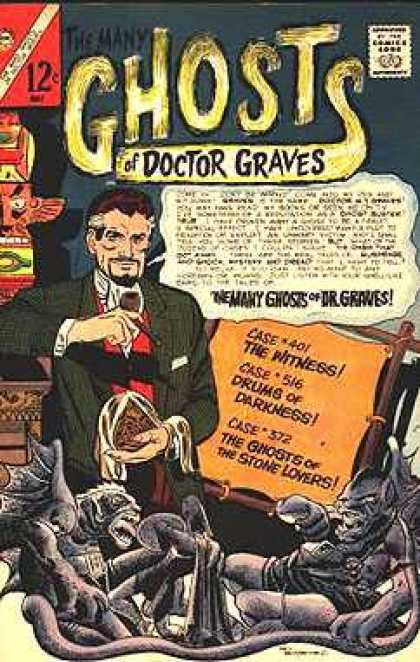 Many Ghosts of Dr. Graves 1 - Gold In Darkness - Hidden In Darkness - Ghosts In Darkness - Ghosts With Gold - Witness The Ghosts With The Gold