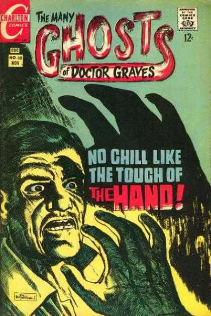 Many Ghosts of Dr. Graves 10 - The Hand - Touch - Man - Scared - Eerie