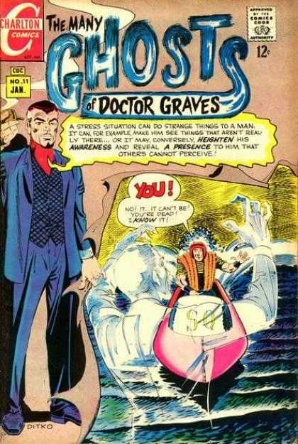 Many Ghosts of Dr. Graves 11