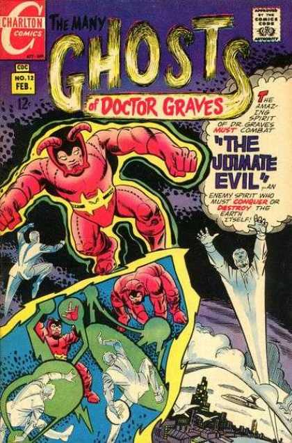 Many Ghosts of Dr. Graves 12 - Doctor Graves - Costumes - The Ultimate Evil - Fliing Men - City