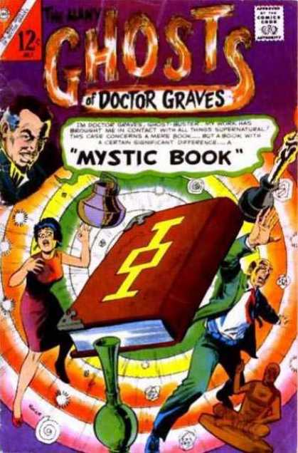 Many Ghosts of Dr. Graves 2 - Mystic Book - Red Book - Evil Face - Pot - Color Circles - Rocco Mastroserio