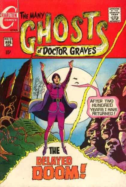 Many Ghosts of Dr. Graves 21