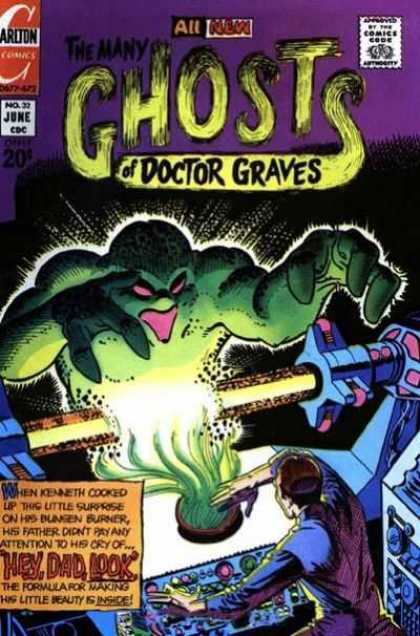 Many Ghosts of Dr. Graves 32