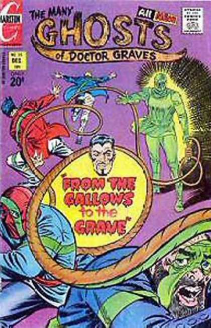 Many Ghosts of Dr. Graves 35 - Gallows - Grave - Glowing - Rope - Noose