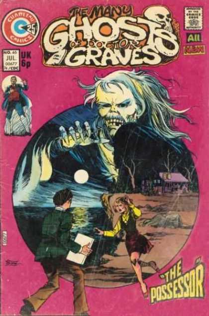 Many Ghosts of Dr. Graves 46 - All New - The Possessor - Uk 6p - No 46 Jul Co677 74 Cdc - Sanho Kim